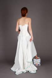 Simple white dress I