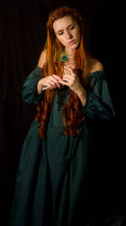 Green Dress  Stock II by GillianStock