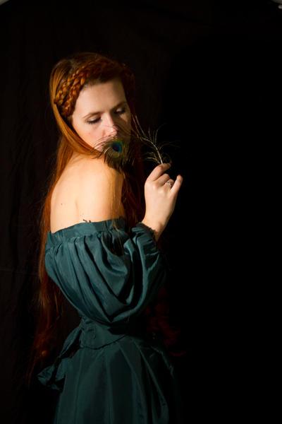 Green Dress  Stock III by GillianStock