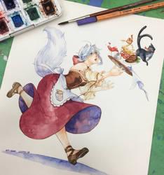 Commission: Shikobe