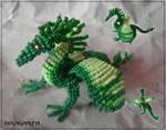 Beaded Grass Dragon