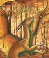 Joy of autumn by Dragarta