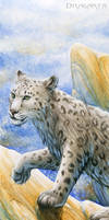 Bookmark - Snow leopard