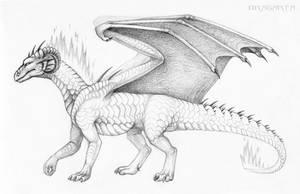 New sketch of Dragarta by Dragarta