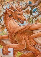 ACEO for DragonLady by Dragarta
