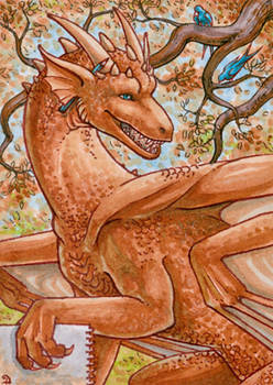 ACEO for DragonLady