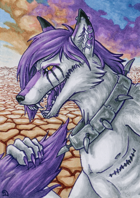 ACEO for GoreHounde by Dragarta