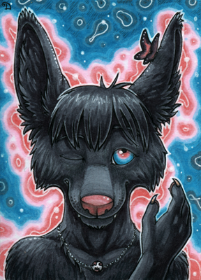 ACEO for Nera by Dragarta