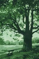Under the linden tree by Dragarta