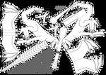 Dragon paper toy by Dragarta