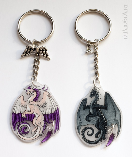 Keychains for Mako and Allpa by Dragarta