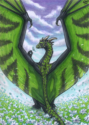 ACEO for Kamakru by Dragarta