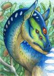 ACEO for DreamBurst by Dragarta