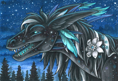 ACEO for Aishila by Dragarta