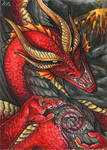 ACEO for RedFyreDragon