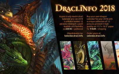 Draci.info Calendar 2018 by Dragarta
