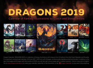 Dragon calendar: DRAGONS 2019