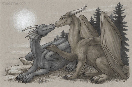 Dragon Calendar - Happy Couple