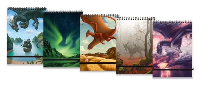 Dragon sketchbooks