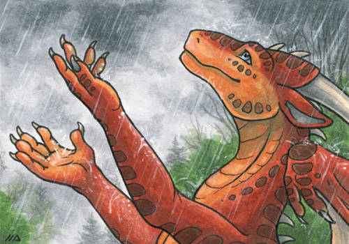 ACEO for Rait-StormDragoness