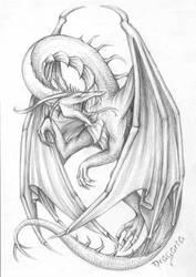 Dragon Ghastly by Dragarta