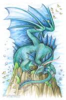 Elements - Water Dragon by Dragarta