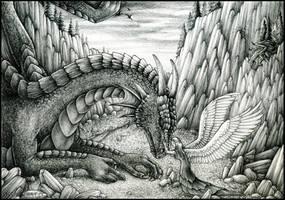 White wings of hope by Dragarta