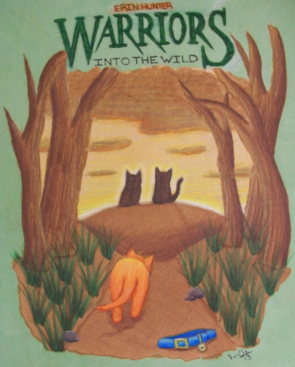 Into The Wild Warriors Book: WARRIORS: INTO THE WILD (BOOK REPORT COVER) By Nessajojo03