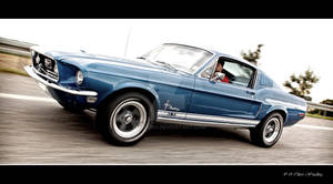 Driving 68' Fastback
