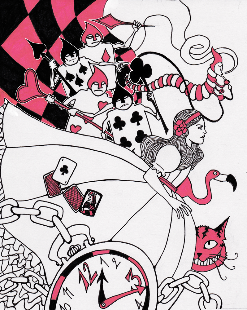 Alice in Wonderland by ZlayerOne