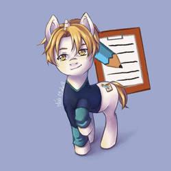 My little Pony - Nathaniel - MCL by Meg-Marmite