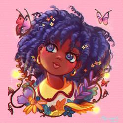 DTIYS Butterfly girl