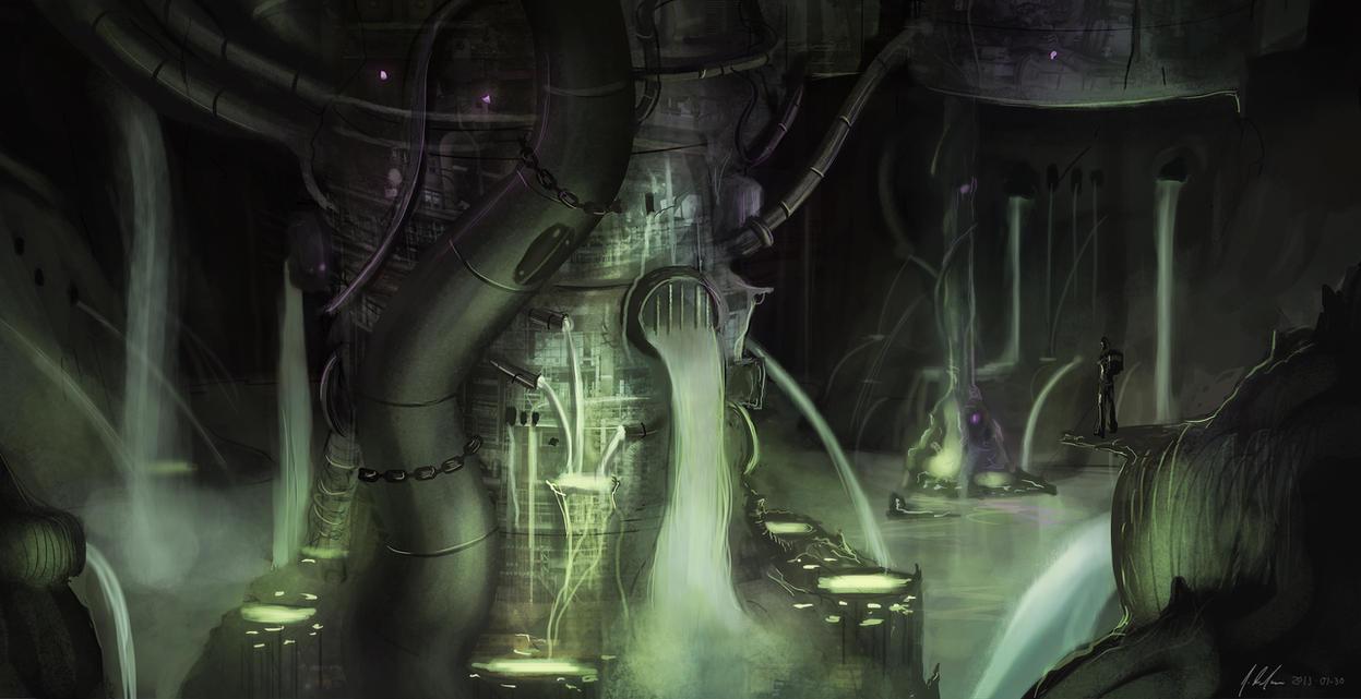 Sewer by JonathanDufresne