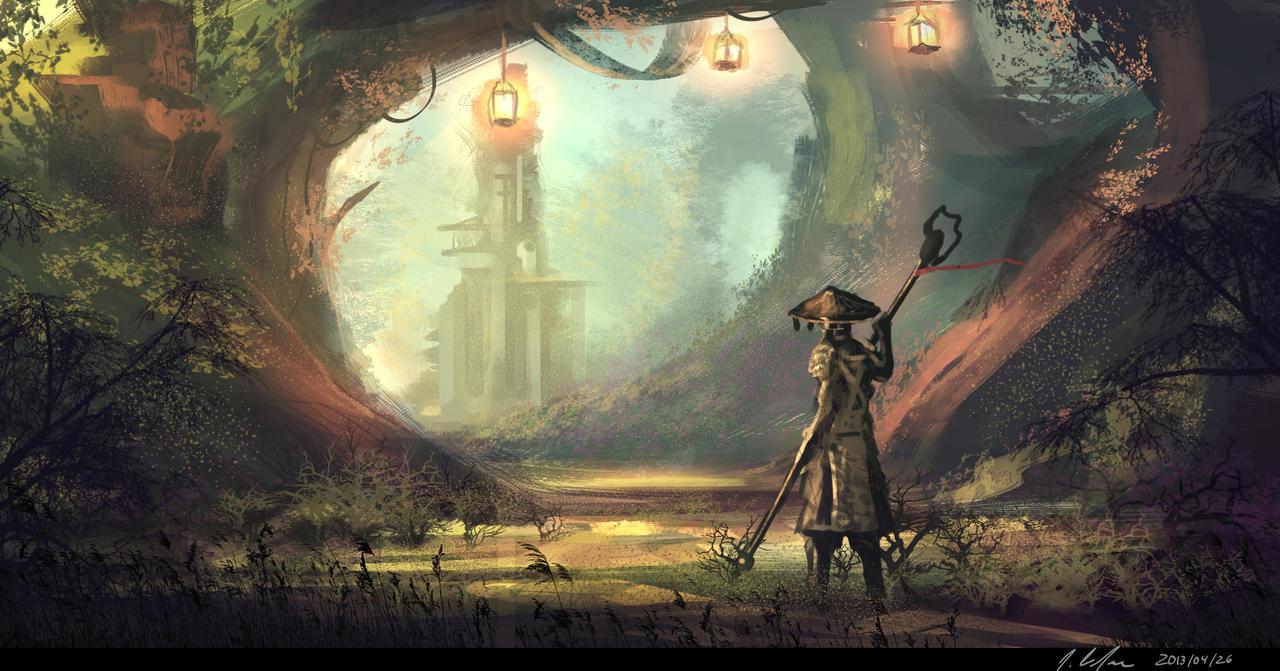Warrior Path by JonathanDufresne
