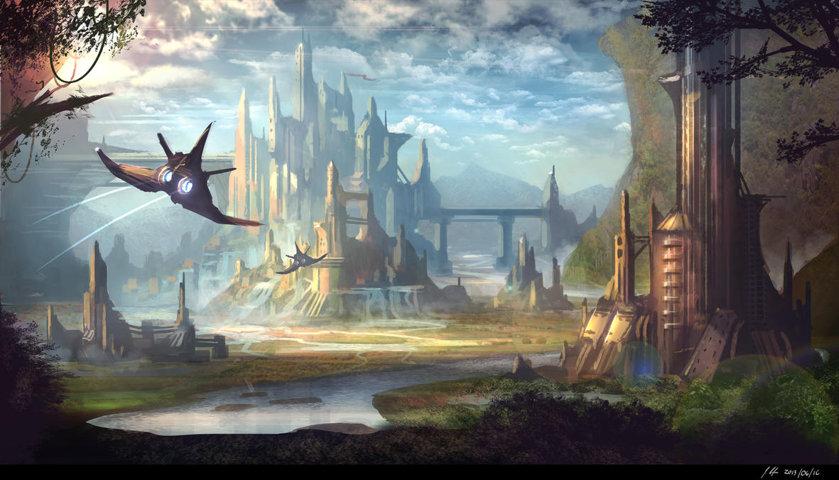 yup...sci-fi concept by JonathanDufresne