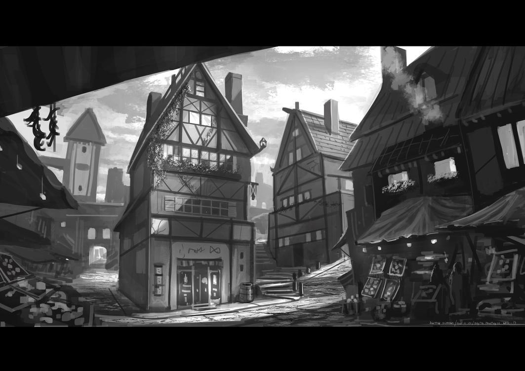 Description de la maison urbaine. Village_concept_by_jonathandufresne-d6s8mhd