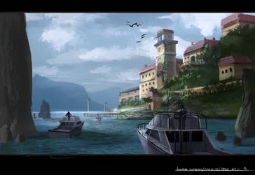 quick painting by JonathanDufresne