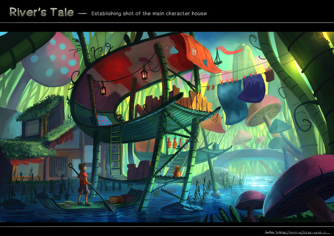River's tale by JonathanDufresne