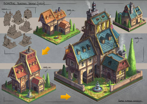 Isometric Villa Design