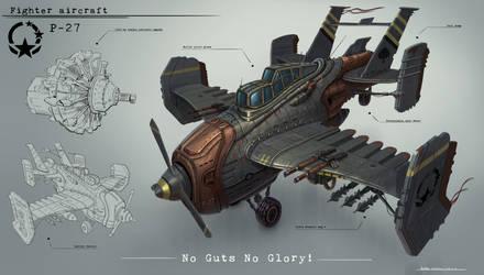 Plane concept by JonathanDufresne