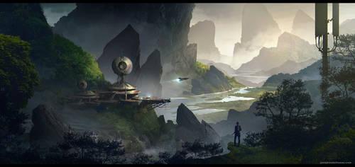 Secret Base by JonathanDufresne