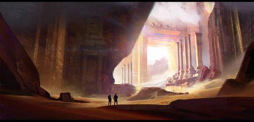 Desert by JonathanDufresne