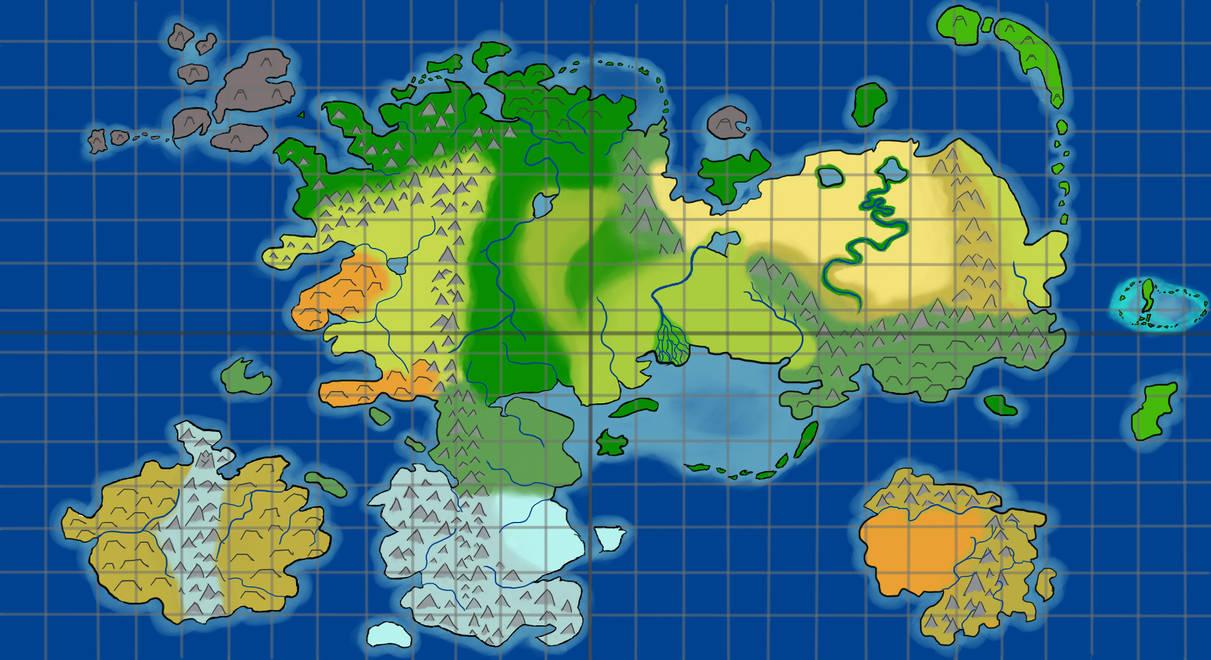 DnD World Map (Arturia) by emem5656 on DeviantArt