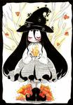 Little autumn witch