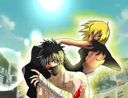 Hokama vs Halibel by Sora-Shintaro