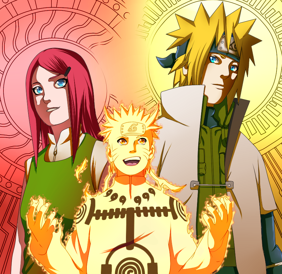 Naruto 544 Uzumaki Family By Sora Shintaro On Deviantart