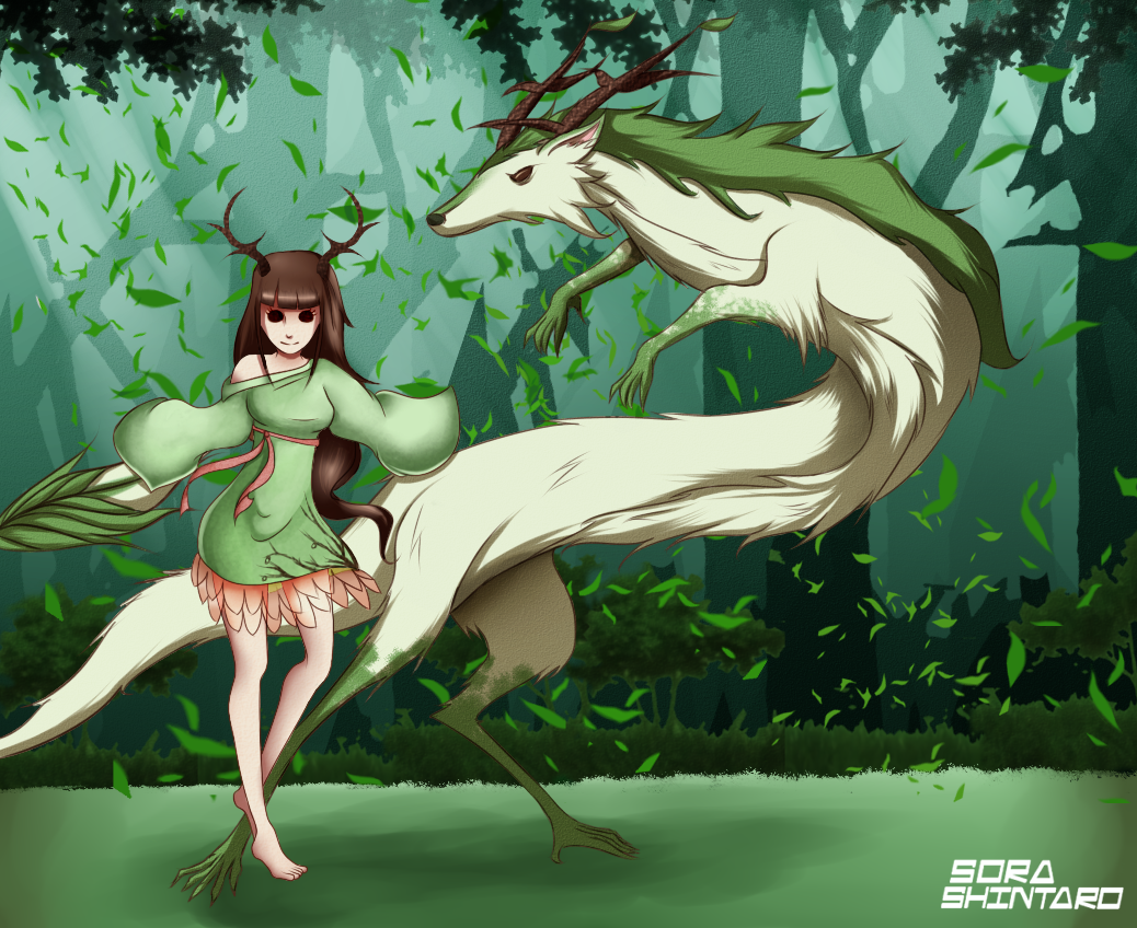 Contest Entry: Ellie and Kami by Sora-Shintaro
