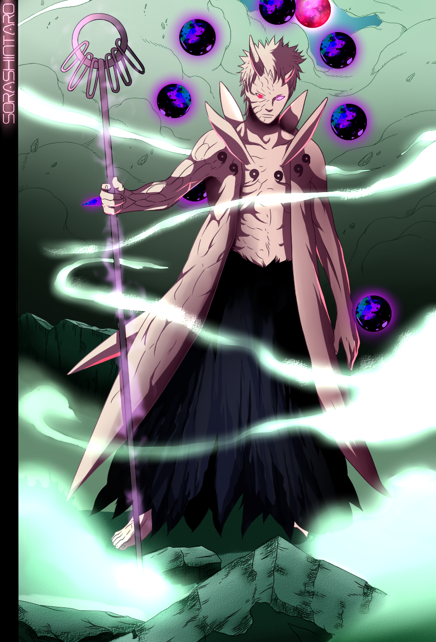 Obito Uchiha, The Ten Tails Jinchuuriki by Sora-Shintaro ...