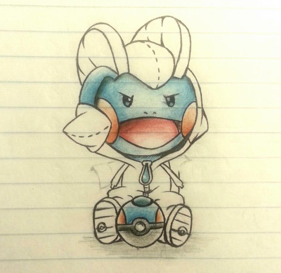 Mudkip Sketch by Sora-Shintaro