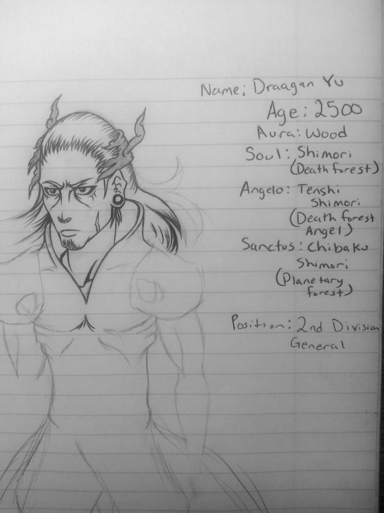 Draagan Yu Sketch by Sora-Shintaro